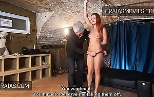 Renata Fox shedding tears first of all bdsm casting