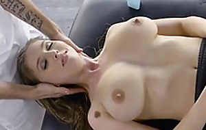 Touching Lena Paul scene starring Len - Dirty Masseur
