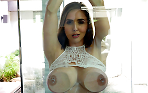 Sexy babe Lena Paul In the porn scene - Flashing and Splashing