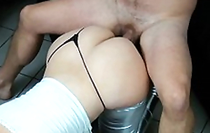 Bootylicious mom plus boyfriend find agreeable XXX position misdesignated doggy style