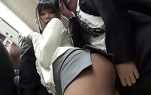 Beautiful Asian Teen Fucked On Train