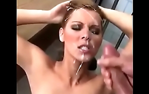 Cum shower 2