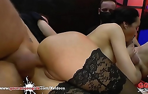 Francys Handsomeness Queen be required of Anal Gangbang - German Guck Cuties