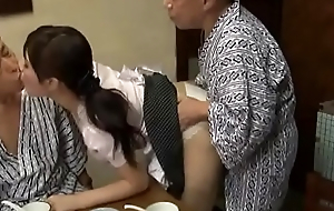 Sexy Azusa Nagasawa has making love nearly two lucky old admass