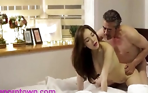 Korean - Fuck Scene In The Bedroom - Await more theporntown.com