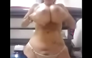 Sexy brunette show their way huge boobs - takeclothesoff.live
