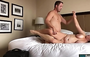 Hotel Sex with busty amateur Friend get hitched