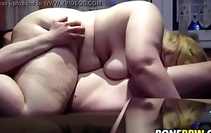 Bbw sucking dick