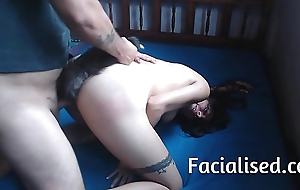 Amateur Latina acquires fucked and acquires a facial
